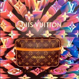 🇫🇷Authentic Louis Vuitton Compiegne 23 Clutch